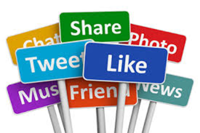 use social media to stay connected